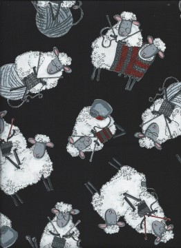 Knitting Sheep, 5087