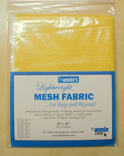 Lightweght Mesh fabric, gul