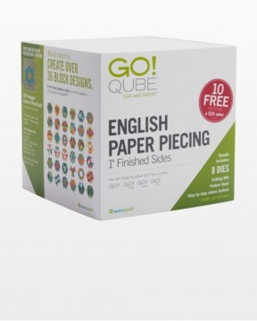 55825, Cube English Paper Piecing, 1 inch Finished Sides