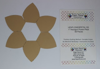 1 inch Hexagon Flower Petal